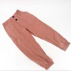 Zara kids jogging pants with buttons